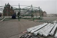 Сборка новогодней елки на площади Ленина, Фото: 4
