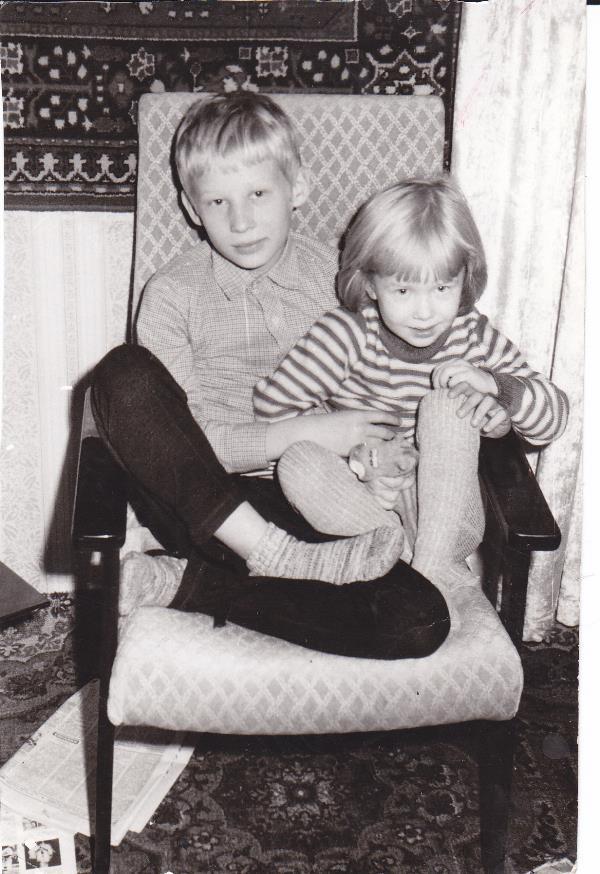 Я и мой старший брат.