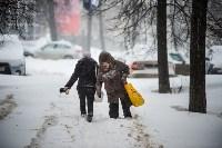 Снегопад в Туле. 19 января 2016 года, Фото: 1