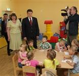 Владимир Груздев посетил детский сад №50 в Новомосковске, Фото: 5