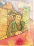 выставка тульского художника, пропавшего в Кармадоне с Сергеем Бодровым, Фото: 1