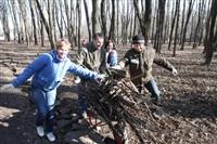 Субботник в Комсомольском парке с Владимиром Груздевым, 11.04.2014, Фото: 30