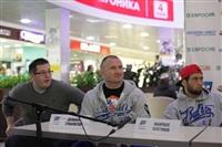 Бойцы М-1 провели открытую пресс-конференцию и встретились с фанатами, Фото: 7