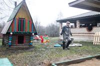 Александр Лебедев в деревне Поповка Чернского района , Фото: 19