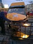 ДТП с двумя маршрутками на пересечении ул. Советской и Красноармейского пр. 06.03.2014, Фото: 1