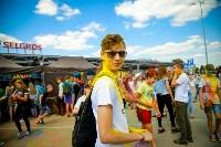 В Туле прошел фестиваль красок и летнего настроения, Фото: 83