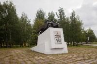 Памятник воинам-автомобилистам. Возвращение. 18.08.2015, Фото: 20