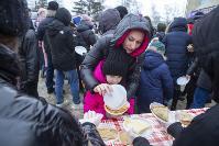 Широкая Масленица с Тульским цирком: проводы зимы прошли с аншлагом, Фото: 48