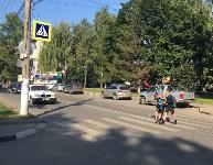 Сотрудники ГИБДД проверили юных пешеходов и велосипедистов, Фото: 1