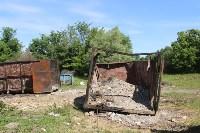 В Тульской области незаконно сжигали московский мусор, Фото: 17