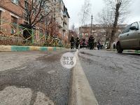 На улице Металлургов в Туле загорелась квартира , Фото: 17