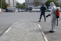 Тульские спасатели продезинфицировали автовокзал «Восточный», Фото: 27
