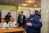 Учения МЧС в убежище ЦКБА, Фото: 12