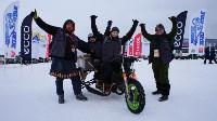 Мотороллер «Алексей Геннадьевич» из Тулы установил рекорд скорости на «Байкальской миле», Фото: 65