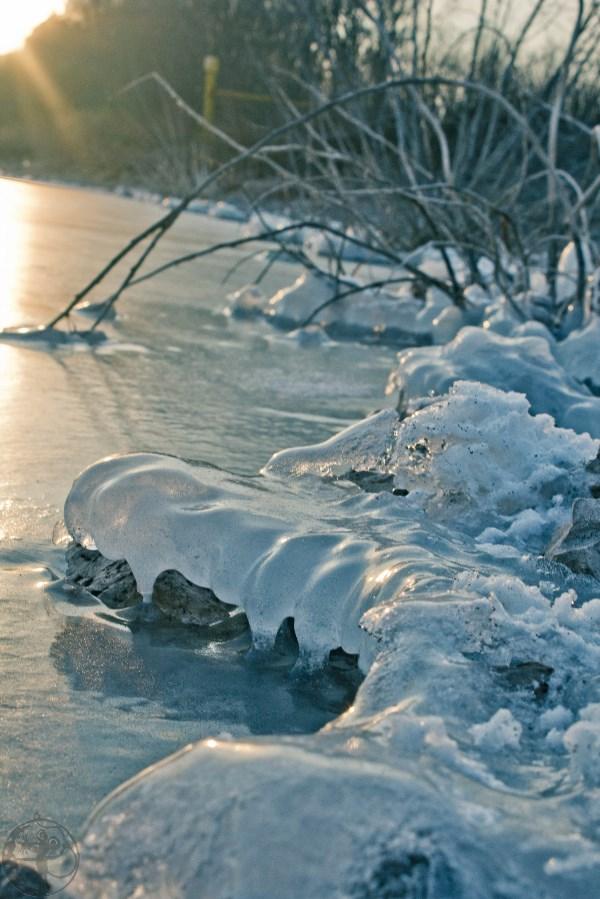 """Льды """"мёртвого озера"""""""