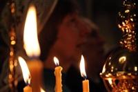 Пасхальная служба в Успенском соборе. 20.04.2014, Фото: 56