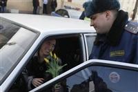 Полицейские поздравили автоледи с 8 Марта, Фото: 23