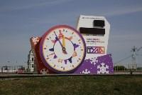Новогодние часы в Туле, Фото: 1