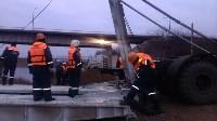 Монтаж моста в Архангельской области, Фото: 15