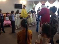 Для детей украинских переселенцев организовали новогоднюю праздничную программу, Фото: 1