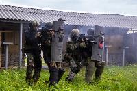 В Туле спецподразделения ОМОН и СОБР провели учения, Фото: 22