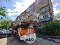 Пожар на ул. Шухова в Туле, Фото: 2