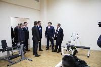 Врио губернатора Тульской области Алексей Дюмин посетил новомосковский ФОК «Мечта», Фото: 6