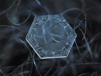Макрофотографии снежинок, Фото: 4