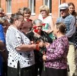 Владимир Груздев на вручении ключей от новых квартир переселенцам в Богородицке, Фото: 6