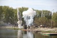 Реконструкция боевых действий. Центральный парк. 9 мая 2015 года, Фото: 59
