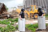 В Плеханово продолжается снос незаконных цыганских построек, Фото: 20