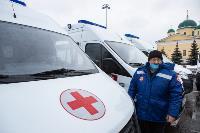 Алексей Дюмин передал региональному Центру медицины катастроф 39 новых автомобилей, Фото: 27