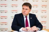 Владимир Груздев пообщался с журналистами «Слободы» и Myslo, Фото: 5