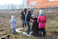 Генеральную уборку в Туле на Пролетарской набережной провели работники КБП, Фото: 13