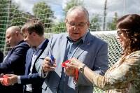 Открытие нового футбольного поля, Фото: 36