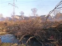 Возгорание сухой травы на ул.Комбайновая, Фото: 5