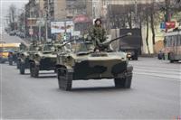 По Туле прошла колонна военной техники, Фото: 5