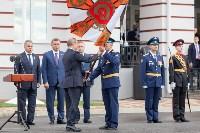 Путин в Суворовском училище, Фото: 56