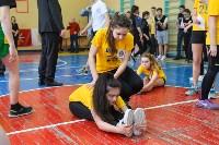 Старт тестирования комплекса ГТО в тульских школах. 16 февраля 2016 года, Фото: 35