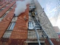 Пожар в общежитии на ул. Фучика, Фото: 12
