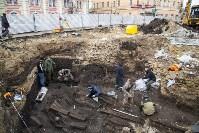 На Крестовоздвиженской площади Тулы обнаружено кладбище 18 века, Фото: 9