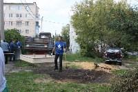«Экопатруль» благоустроил в Киреевске двор, Фото: 4
