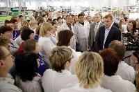 В Богородицке Алексей Дюмин посетил ООО «Завод №423», Фото: 15