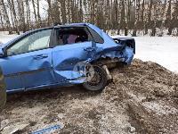 На дороге «Тула-Новомосковск» Ford протаранил Chevrolet, Фото: 11