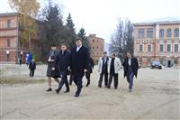 16 октября Владимир Груздев проконтролировал ход работ по благоустройству набережной, Фото: 4