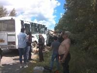 ДТП с пассажирским автобусом в Узловском районе, Фото: 4