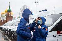 Алексей Дюмин передал региональному Центру медицины катастроф 39 новых автомобилей, Фото: 25