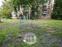 Дворы на Красноармейском проспекте затопило нечистотами, Фото: 24