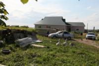 С огнем в жилом доме в селе Теплое боролись три пожарных расчета, Фото: 8