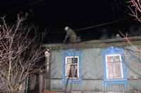 В поселке Октябрьский сгорел дом., Фото: 10